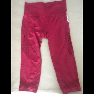 Gymshark energy seamless cropped leggings